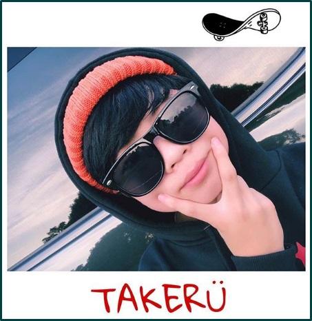 TAKERU(ダンサー)の家族は?妹さらちゃんがかわいい!仲良しキュン画像