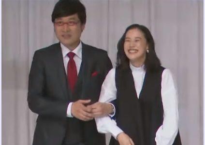 山ちゃんかっこいい!結婚記者会見で蒼井優が潤んだ山ちゃんの言葉とは?【動画】