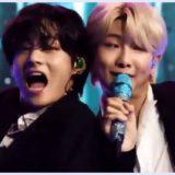BTS,FNS,歌謡祭,動画,テテ,ナムジュン