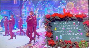 CDTV,キンプリ,King and Prince,動画,クリスマス