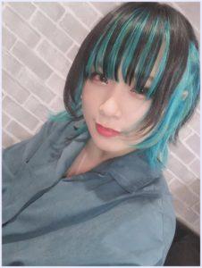 今くら,ヤママチミキ,緑,髪,かわいい,歌い方,画像