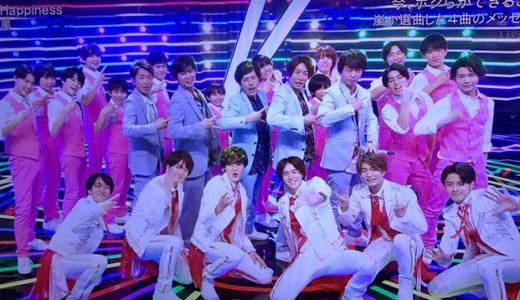 【動画】CDTVライブライブでの嵐パフォーマンスが圧巻!