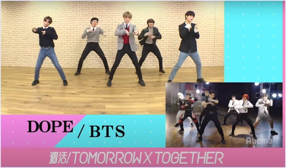 TXT,BTS,ダンス,完コピ,動画,ボムギュ,週活