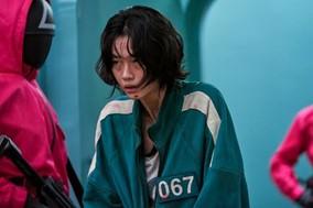 モデルのチョン・ホヨンさん演じるカン・セビョク